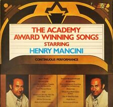 HENRY MANCINI the academy award winning songs continuous performance LP PS EX/EX