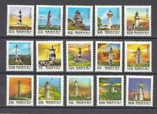 China Taiwan Stamp-(1989-1991)-常108-Taiwan Lighthouses Postage  -15 Stamps
