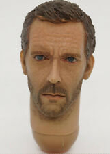 "Dr. Gregory House MD 1:6 scale HEAD SCULPT for 12""inch action figure Hugh Laurie"