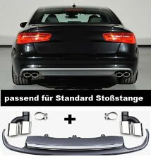 Für Audi A6 C7 4G Spoiler Diffusor S-Line S6 Wabengrill Stoßsange Grill  #21