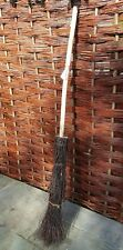 Traditionally Made Besom Broom or Witch's Broom. Handcrafted from Birch