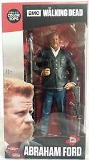 "Abraham Ford AMC The Walking Dead McFarlane Color Tops Red Wave 7"" Figure"