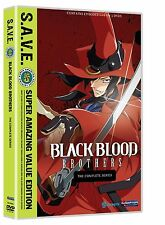 Black Blood Brothers: The Complete Series S.A.V.E. Complete Anime Box / DVD Set!