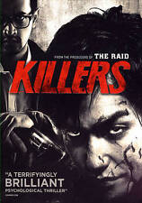 Killers (DVD, 2015)Sealed,WS,English Dub,Thriller Serial Slipcover Crazy Action