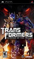 Transformers: Revenge Of The Fallen  PSP Game