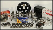BBC 454 ROTATING ASSEMBLY SCAT CRANK & WISECO FORGED PISTONS 454+10cc-4.310-2pc