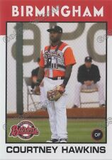 2016 Birmingham Barons Courtney Hawkins RC Rookie Chicago White Sox