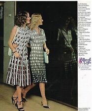 Publicité Advertising 1978 Pret a porter Femme les robes Marcelle Griffon