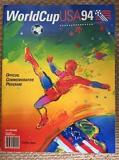 FIFA World Cup USA 1994 - Official Commemorative Program - Rare Collectors Item