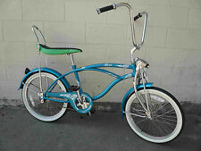 "NEW 20"" Beach Cruiser Bicycle Bike LowRider Hero Turquoise"