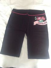 Knee Length Shorts DESIGER Black By Playboy Size S / 8