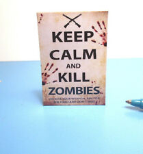 Dollhouse Miniature Zombie Sign : S152