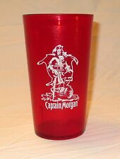 Vintage Captain Morgan Collectible Drink Glass Tumbler Printed With Recipe