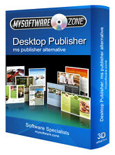 DESKTOP PUBLISHER 2007 2010 2011 FOR MICROSOFT MS WINDOWS CD
