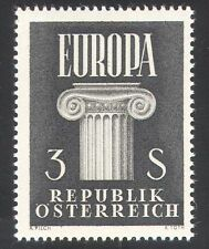 Austria 1960 Europa/United Europe/Architecture/Politics/Animation 1v (n38680)