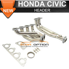 1988 To 2000 Honda Civic Racing Header Manifold Stainless Steel Exhaust Pipe