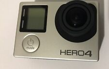 GO PRO HERO 4 SILVER EDITION ACTION CAMERA  WITH ACCESSORIES PRE OWNED