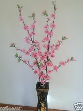 Artificial silk plants & flowers Plum Blossom F5