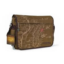 UNCHARTED 4 A Thief's End Treasure Map Messenger Bag, Brown (GE3167)