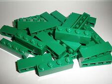 LEGO CITY 25 Bloques 3010 verde / verde oscuro 1x4 Botones PRODUCTO NUEVO