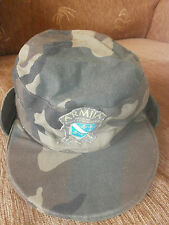 BOSNIA ARMY -  ORIGINAL WAR TIME SOLDIE'S CAMO CAP WITH MARK -  rare