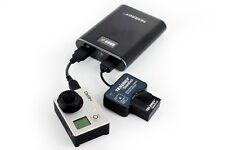Tenergy SideKick6 Power Kit for GoPro Hero3 (Power Bank, Battery, USB Charger)