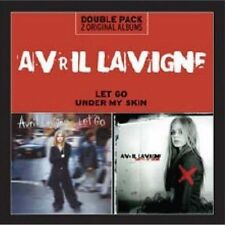 Let Go/Under My Skin by Avril Lavigne (CD, Mar-2013, 2 Discs, RCA)