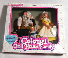 Horsman Colonial Doll House Family in Original Box