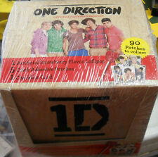 3 LOT ONE DIRECTION PATCHES BOXES SEALED 24 PACKS IN EACH BOX!