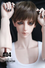 Straight  Smooth Short Brown Wig For BJD 1/3 SD17 Uncle 7-9'' Doll Wig  HM34