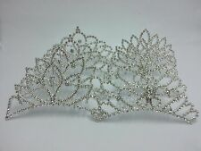 Wholesale Job lot Girl,ladies Bridal Prom Crystal Tiara Crown Slide 18Pc