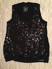 Brand-NEW Deha De Luxe Brand New Womens Black Top, Size L