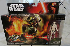 "2015 Star Wars ""The Force Awakens"" Assault Walker w/Sgt. Stormtrooper New in Pkg"