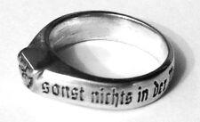 """Wappenring Bismarck mit Zitat """"Wir Deutsche fürchten Gott sonst nichts ..."""""""