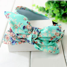 Big Bowknot Ribbon Beach Hair Accessory Rabbit Ear Headband Bow Head Band Chic