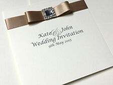 Pocketfold Wedding Invitation SAMPLE - CHAMPAGNE ELEGANCE
