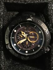Invicta Limited Edition JASON TAYLOR Black & Yellow Watch (#172 out of 999) New