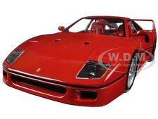 FERRARI F40 RED SIGNATURE SERIES 1:18 DIECAST MODEL CAR BBURAGO 16601