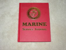 USMC Marine Service Journal Diary Very Nice to Keep a History of your Service