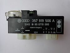 Volkswagen Jetta Golf Passat Radiator Fan Control Unit Relay FCU 357919506A