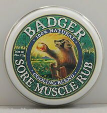 Badger Sore Muscle Rub Cooling Blend 21g