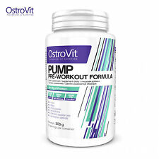 Ostrovit Pump 300g Pre-Workout Booster Energy Endurance Muscle Growth Anabolic