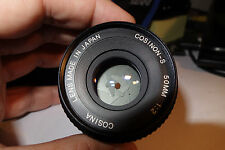 Cosina Cosinon-S 50 2.0 lens for Pentax PK mount