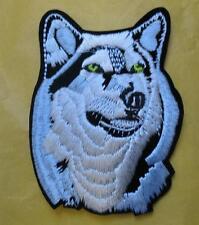 Wolf Aufnäher Patch  Indianer Canis Lupus Wolfshund  S