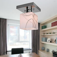 Modern Mini Style Flush Mount Ceiling Light Fixtures Cube Shape Chandeliers