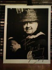 MICKEY ROONEY **HAND SIGNED ** BLACK AND WHITE PHOTO.