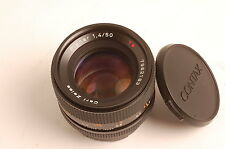 Contax Carl Zeiss 50mm f1.4 Planar T* MMJ Yashica/Contax Excellent w/caps #61311