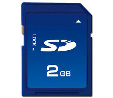 Legacy SD 2GB memory card for older Kodak Minolta Canon