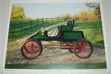 1905 Stanley Steamer Runabout car print (green, no top)