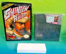Shingen the Ruler Original NES Nintendo Game w/ Box Dust Cover Hot B Strategy